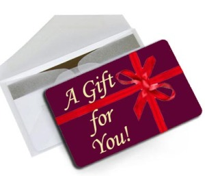 Any Occasion Gift Card always fits!